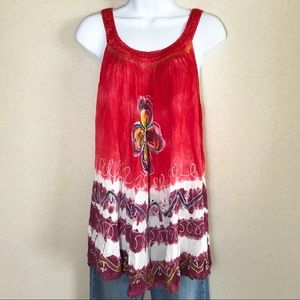 👗Boho Festival Top India Boutique    Free Size